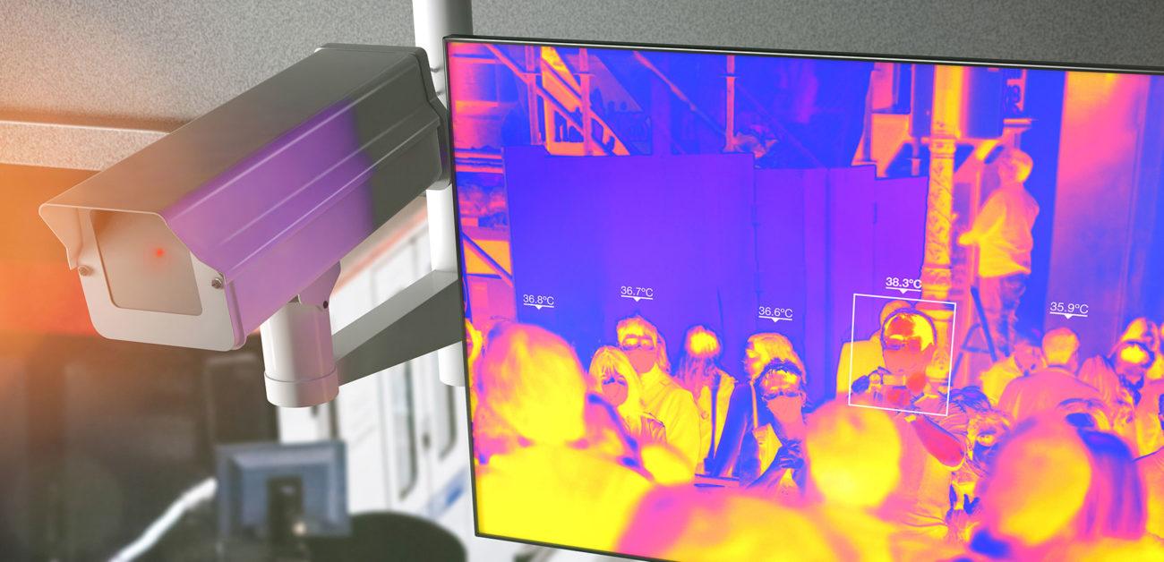 CCTV Fever Screening Camera