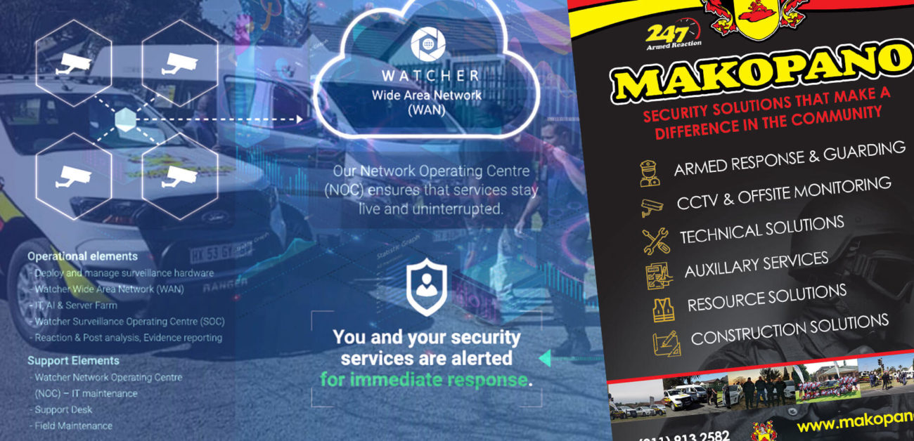 Makopano Watcher Partnership Artificial Intelligence Security with traditional
